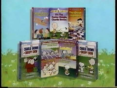 Peanuts Home Video Promo