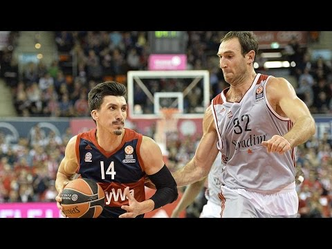 Highlights: RS Round 3, FC Bayern Munich 76-61 Strasbourg