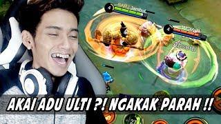 Download Video NGAKAK! AKAI ADU ULTI ft. Watchout Gaming !!! -  Mobile Legends Indonesia MP3 3GP MP4