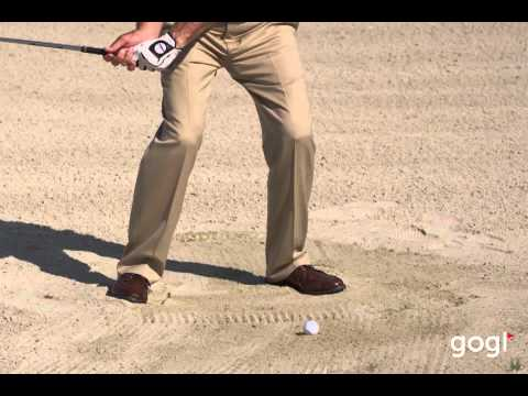 Golf Basics – Greenside Bunker Lower Body: Todd Anderson at www.mygogi.org