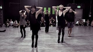 "Brian Friedman & Yanis Marshall Heels Choreography | Britney Spears ""Breathe On Me"""
