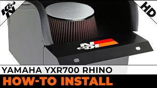 7. Air Intake Demo for 2008- 2009 and 2011-2013 Yamaha YXR700 Rhino