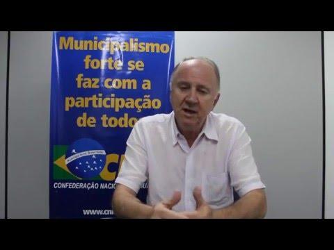 Presidente Paulo Ziulkoski convida Gestores para a XIX Marcha a Brasília em Defesa dos Municípios