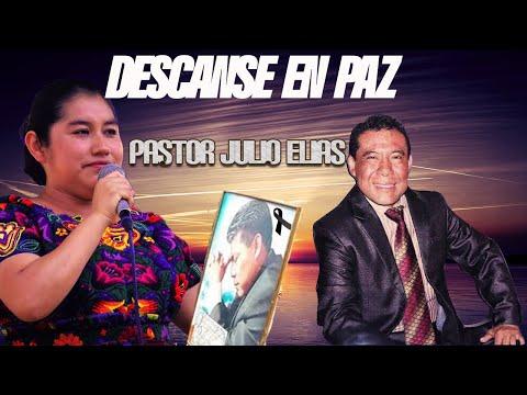 Rossy Castro Despide Cantando al Cuerpo del Pastor de Jovenes Julio Elias Camey