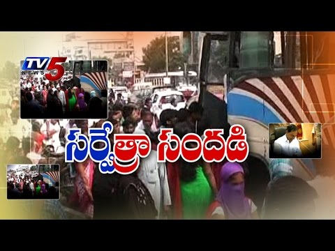 TS Intensive Household Survey | TS Govt All Set For Survey : TV5 News