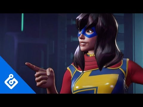 Gameplay Miss Marvel de Marvel Ultimate Alliance 3: The Black Order