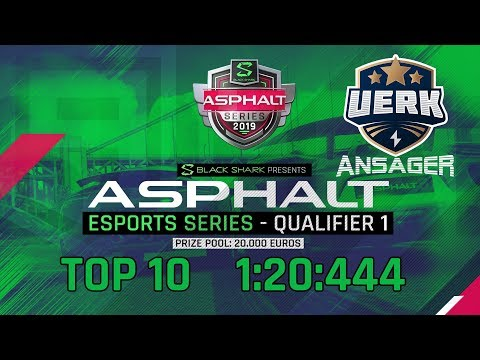 Asphalt Esports Series presented by Black Shark