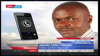 A family's losses two children and a father due to arson in Kiambereria,Nakuru