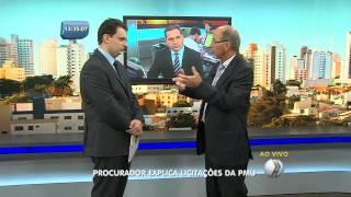 BALANÇO GERAL - Procurador explica licitações da Prefeitura Municipal de Uberlândia