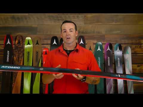 Atomic Vantage 90 CTI Skis - Men's