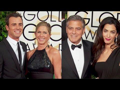 Golden Globes 2015 Red Carpet - Jennifer Aniston,