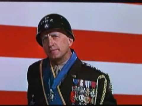 Incredible! New George S Patton speech!  Iran & modern warfare