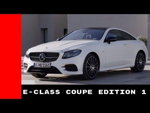 2018 Mercedes E Class Coupe Edition 1 Test Drive, Interior, Design