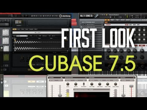 Cubase 7.5 – First Look – Overview