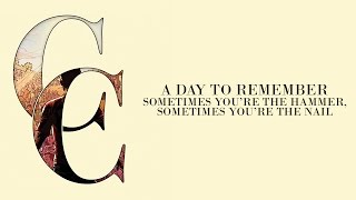 A Day To Remember - Sometimes You're The Hammer, Sometimes You're The Nail (Audio) - YouTube