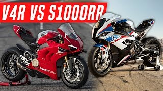 8. 2019 BMW S1000RR vs Ducati Panigale V4R - What to Buy?