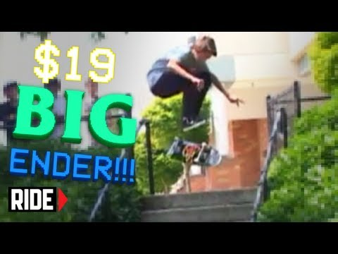 BIG ENDER! Player #58 Ben Campbell - Shredit Cards