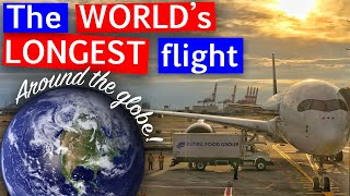 Video The Longest Flight in the World | A350-900ULR Business Class Singapore Airlines MP3, 3GP, MP4, WEBM, AVI, FLV Oktober 2018