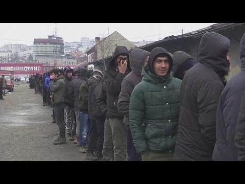 Το δράμα των μεταναστών που παραμένουν εγκλωβισμένοι στα Βαλκάνια