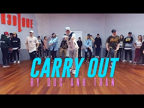 "Timbaland Ft. Justin Timberlake ""CARRY OUT"" Choreography By Duc Anh Tran"