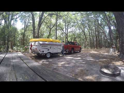 Rockwood Freedom 1640 LTD Popup - Campsite Setup And Tour