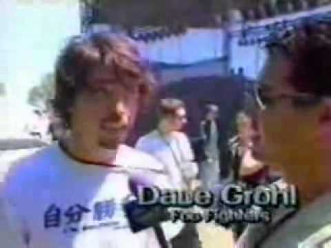 EdgeFest 98 Dave Grohl Interview (видео)