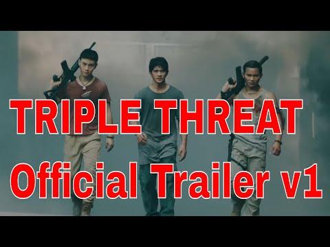 TRIPLE THREAT Official Trailer V1 Tony Jaa, Iko Uwais, Scott Adkins Action Movie HD