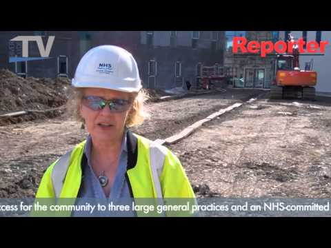 A tour around the new Vale Centre for Health and Care