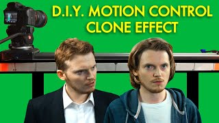 CLONE EFFECT - DIY motion control and After Effects | Tutorial
