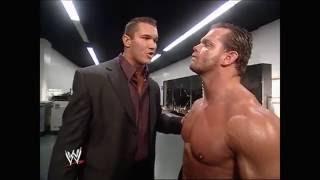 Video Randy Orton, Candice Michelle and Chris Benoit backstage (Raw 29.11.2004) MP3, 3GP, MP4, WEBM, AVI, FLV Mei 2018