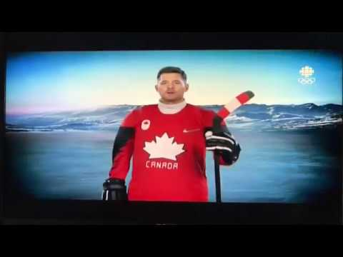 Michael Buble Interview  2018 Olympics