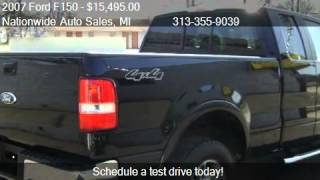 2007 Ford F150 Lariat SuperCab 4WD for sale in Melvindale, M