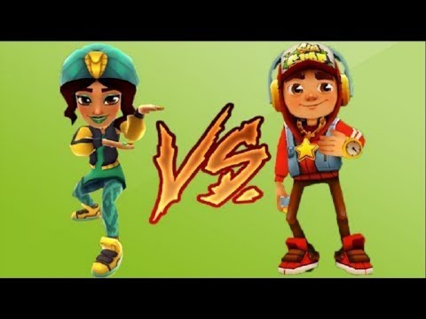 Subway Surfers Salma VS Jake Marrakesh Марафон 2 (видео)