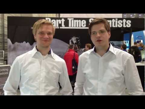 Part-Time Scientists at the ILA Berlin Air Show 2012