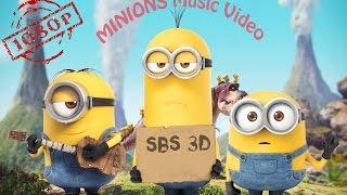 Download Lagu Minions 2015 music video sbs 3D 1080p Mp3