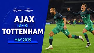 Video Ajax vs Tottenham (2-3) | UEFA Champions League Highlights MP3, 3GP, MP4, WEBM, AVI, FLV Agustus 2019