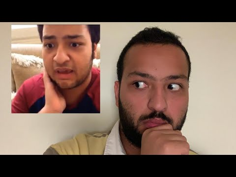 REACTING TO MY OLD VIDEOS | رياكشن ل فيديوز قديمة