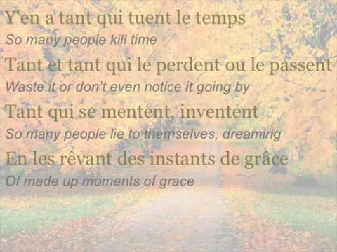 """Céline Dion - """"Encore un soir"""" (ENGLISH TRANSLATION)"""
