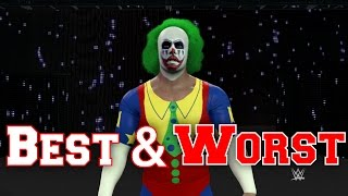 WWE 2K17 - TOP 3 BEST & WORST COMMUNITY CREATIONS EP. #8