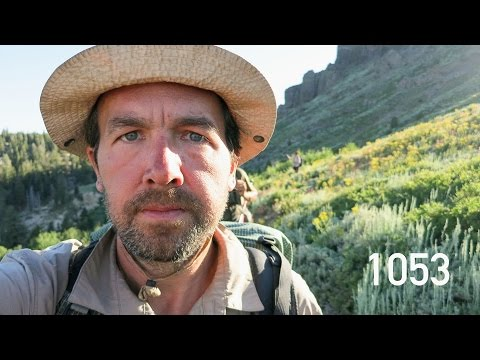 Man hikes 2600 miles on the Pacific Crest Trail from Mexico to Canada and stops to take a selfie once a mile