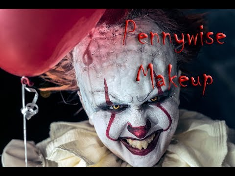 Pennywise Speed Makeup