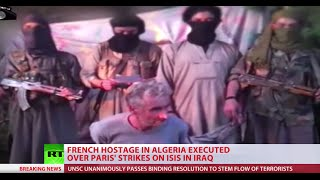French hostage executed by ISIS-linked Algerian jihadists
