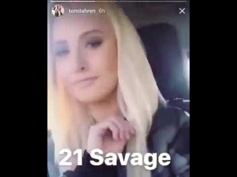 Tomi Lahren Rapping 21 Savage