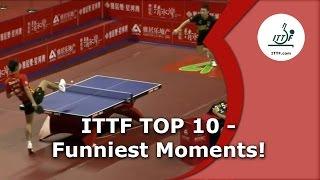 Video Table Tennis's 10 Funniest Moments MP3, 3GP, MP4, WEBM, AVI, FLV September 2018