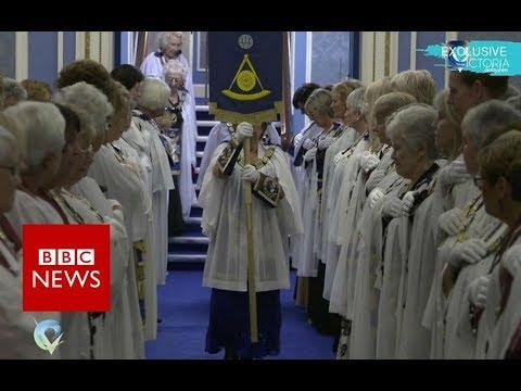 The secret world of female Freemasons - BBC News