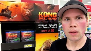 ▶ Follow me on Instagram - http://instagram.com/coolduder▶ Follow me on Twitter - https://twitter.com/shawncphillipsA video showing myself going Blu-ray and Dvd shopping showing all the places I go to to get movies and what Dvds and Blu-rays I picked up. I also go out and look at all the exclusive retail edition of Kong Skull Island such as the only at Target Kong Skull Island Blu-ray which includes a Lenticular Cover and exclusive bonus contest disk. The only at Walmart Kong Skull Island set which includes an exclusive slip cover and Godzilla Blu-ray and the only at Best Buy Kong Skull Island 4k Ultra Hd steelbook edition. I also check out the only at Best Buy exclusive Resident Evil Vendetta 4k Ultra Hd Steelbook.  I also give mini movie reviews of Wish Upon and War For The Planet of the Apes. **The Blu-rays and Dvds I review and talk about this video are : ---From Lions Gate http://lionsgateshop.com* (9:09) Black Butterfly * (11:26) Warlock Collection Blu-ray Set from Vestron Video ---From Warner Bros http://wbshop.com* (14:10) Kong Skull Island 4K Ultra HD * (16:26) The 100 The Complete Fourth Season Dvd---From Sony Pictures http://sonypictures.com/movies/discanddigital/* (17:35) Resident Evil Vendetta ---From 20th Century Fox https://foxconnect.com* (19:41) Wilson * (21:21) The Strain the complete 3rd Season Dvd---From Well Go Usa http://wellgousa.com* (22:12) With Great Power The Stan Lee Story ---From Gravitas Ventures http://gravitasventures.com* (23:31) Blood Hunters * (25:43) 5150 Secrets can Kill * (27:53) Awaken the Shadowman ---From Epic Pictures https://epic-pictures.com/store-home* (29:19) The Dark Tapes ----From Wild Eye Releasing http://wildeyereleasing.com* (30:54) Moth * (32:31) The Control Group ---From Level 33 Entertainment http://level33entertainment.com* (34:29) Walk of Fame ---From PBS http://pbs.org* (36:14) Arthur Brothers and Sisters Dvd---From The Sleaze Box http://thesleazebox.com* (37:06) Fiendish Fables and Ghoulish Tales (All the Dvd