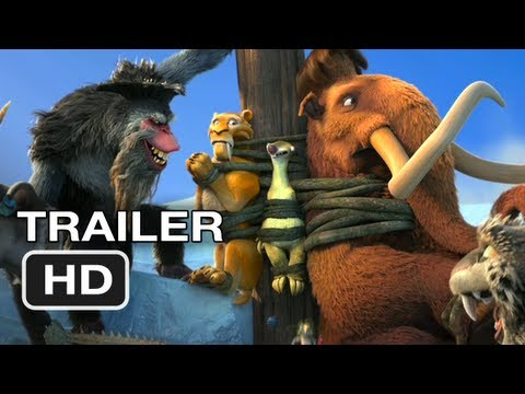(2012) 【冰河世紀 4】Ice Age Continental Drift Official Trailer #1