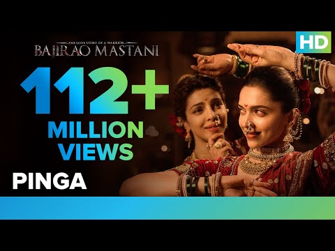 Pinga Song Video Lyrics  | Bajirao Mastani | Deepika Padukone, Priyanka Chopra