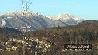 Abbotsford (BC) Canada  city photos gallery : Winter View from Eagle Mountain • Abbotsford, British Columbia • HD