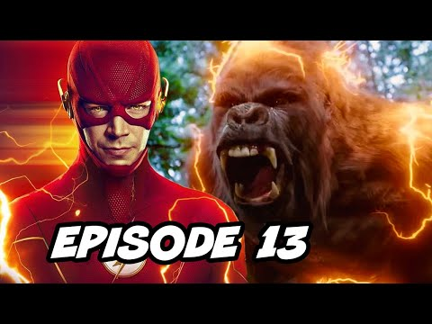 The Flash Season 6 Episode 13 Reverse Flash Grodd TOP 10 WTF and Easter Eggs